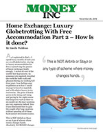 Home Exchange: Luxury Globetrotting With Free Accommodation Part 2 – How is it done?