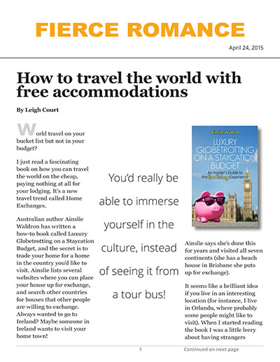 How to travel the world with free accommodations