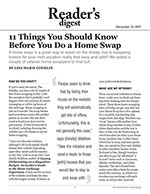 11 Things You Should Know Before You Do a Home Swap